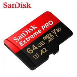 SANDISK EXTREME PRO 64GB MICRO SD 170MB/S