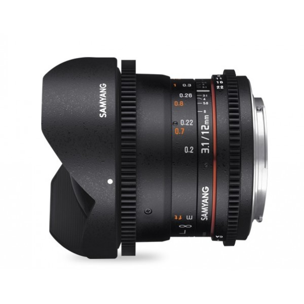 Samyang 12mm T3.1 ED AS NCS Sony