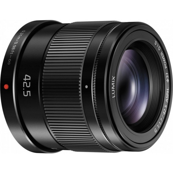 Panasonic 42.5mm f1.7 asph o.i.s
