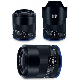 Zeiss loxia 21mm f2.8 mf full frame Sony