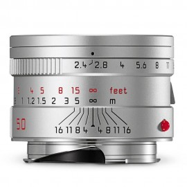 Leica Summarit-M 50mm f/2.4 Silver Anodized Finish
